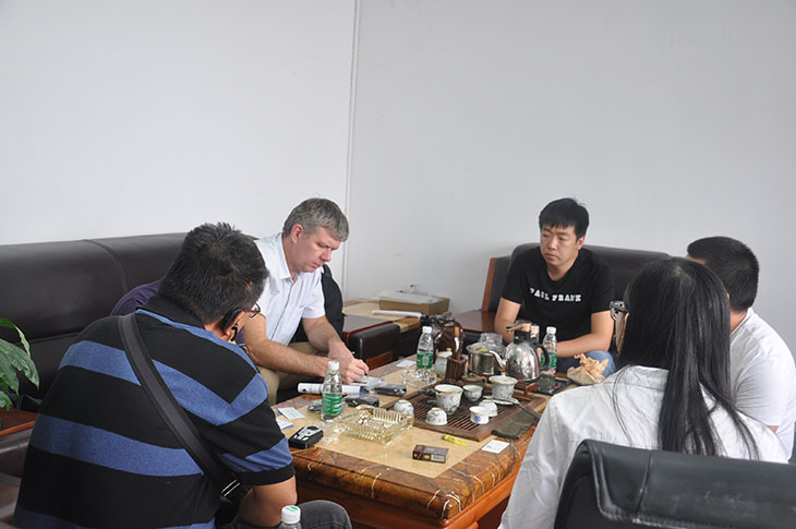 Our Partner Visiting Factory