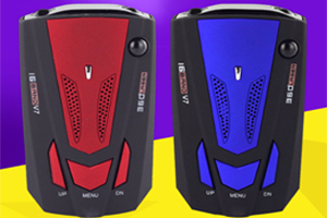 Copy/Fake V7 radar detector appear in the market