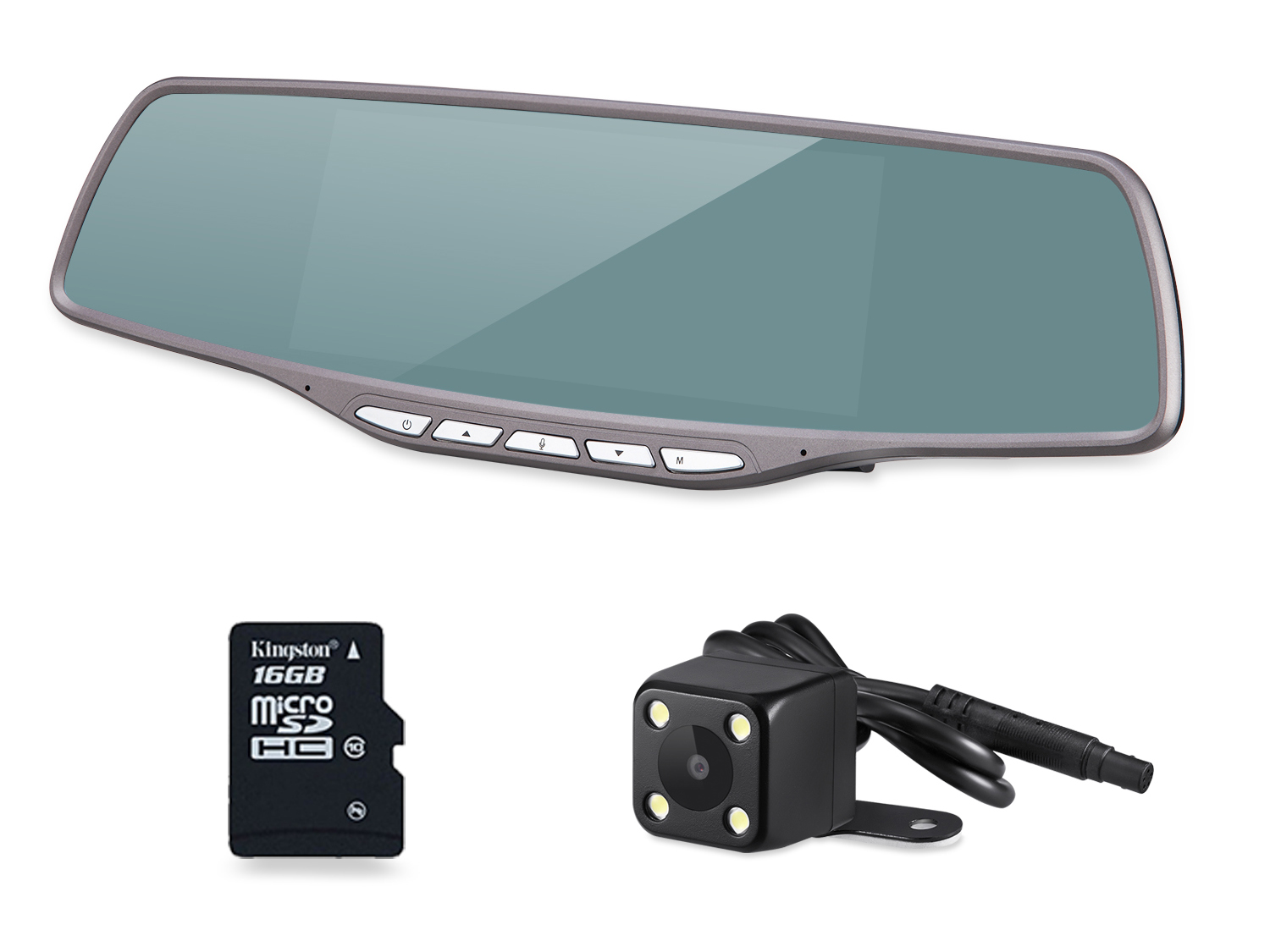V10 Android Rearview Mirror GPS Navigation DVR